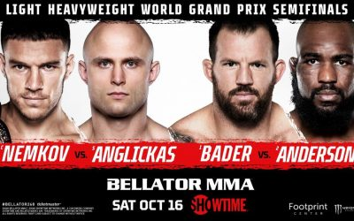 Bellator 268 Takes Place Live Tonight On Showtime